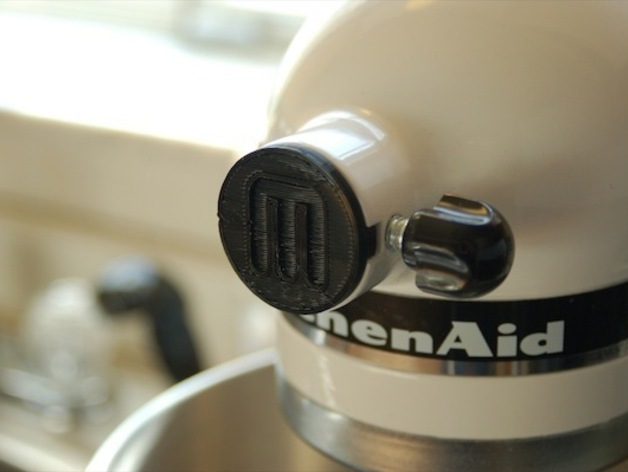 Kitchenaid Mixer Attachment Cap. By TheNewHobbyist May 10, 2011. Thingiview