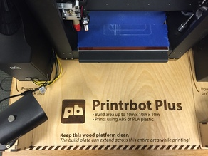 Printrbot Metal Plus - 3D Printer Base with Camera Mount