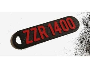 Kawasaki ZZR 1400 - Keychain - Porte-clés