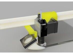 E3D hotend and Titan Extruder mount for K8200 / 3DRAG 3D Printer