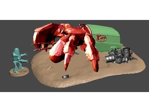 FWW giant hermit crab
