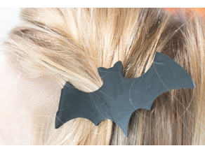 Bat Barrette for Halloween