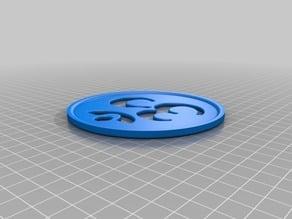 "Zen ""Om"" (ॐ) Coaster (11cm)"