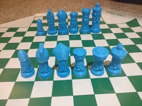 Gothic Chess Hats