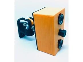Raspberry Pi Zero W case for compatible asian NoIR camera