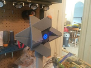 Destiny Ghost with PVC mount