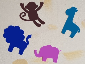 Baby Animal Decals