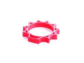 Finger Rosary Ring for Keychain (pocket chaplet, anel dezena para chaveiro, rosário ou terço)