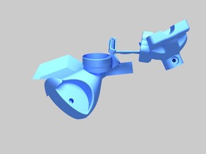 Vertical blind Gear System