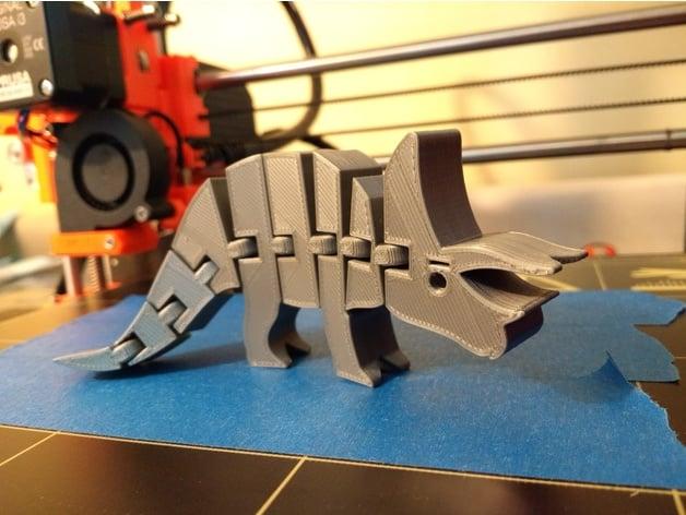 Flexi Triceratops