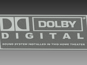 Dolby Digital SIgn for Home cinema