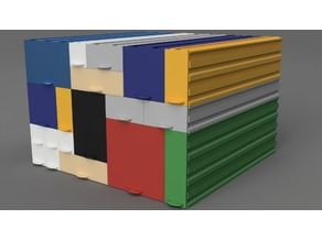 Stackable Drawers with variable length