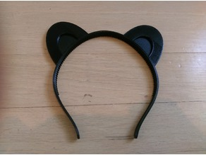 Animal ears headband, customizable