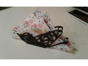 Butterfly napkins holder