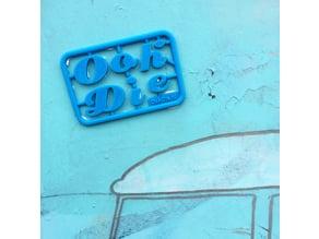 OohDie business card
