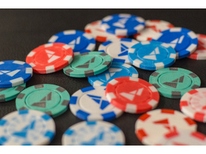Multi-Color Poker Chips