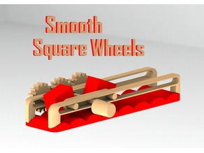 Smooth Square Wheels