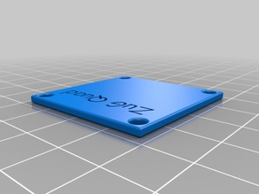 Solid cover plate for FC