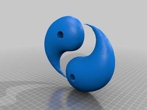 ying yang half