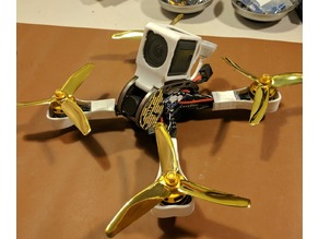 GEPRC GEP-LX5 Leopard GoPro Session AND Runcam 3 mount (Works with LX4 LX6 LXS)
