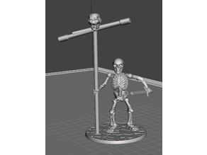 28mm Skeleton Warrior with Standard and Sword