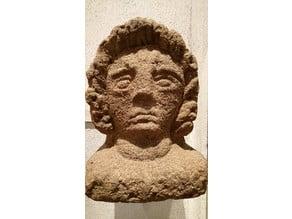 Head of Attis at Caerleon National Roman Legionary Museum