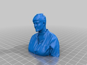 3D Scan of Steph Grimes