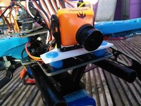 RunCam Swift dampened mount for S500 Quadcopter