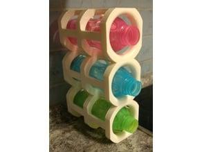 Bottle rack for Tupperware 0,7 / 0,5 litre bottles and other bottles