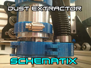 Dust Collection System For OX-Metal CNC Router Mill