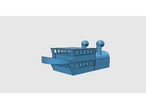 Schiffskabine für RC Modelle 1:50