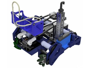 Team Error 404 Complete Robot DWG and STL Files