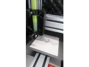 Snapmaker springy pen plotter