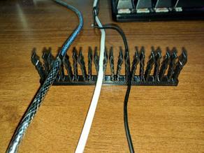 Multidiameter Cable Comb