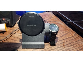 Wireless Charging Dock for Phone and Samsung Gear S3