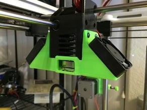 UM2 E3Dv6 mount fan duct