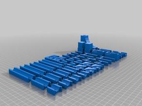 Modular marble track / Desk toy
