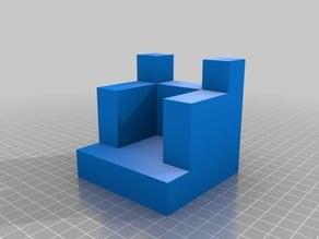 Figuras 3D para trabajar la obtención de vistas ortogonales VIII