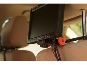 """HypnoKid - 7"""" TFT Car Seat Head-Rest Mount"""