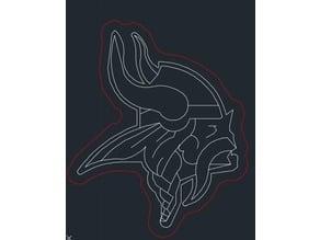 Minnesota Vikings Laser Engrave For The Boys