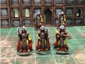 Townsfolke: Town Guard variants (28mm/32mm scale)