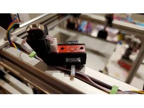Optical Filament Runout Sensor for 3030 2020 HyperCube Evolution (HEVO) and Bond Tech Extruder