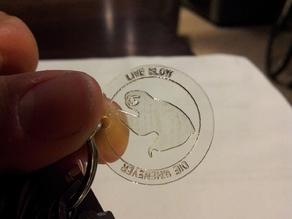 """""""Live Slow, Die Whenever"""" Sloth Coin"""