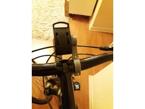 Bicycle Handlebar Extension for Watch support