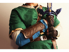 Legendary Fantasy Costume Bracer