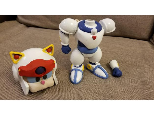 Samurai Pizza Cats Model Kit By Techtek Thingiverse