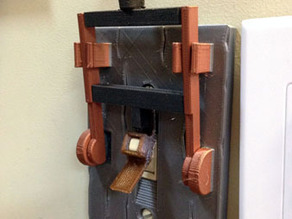 Multi-Material Frankenstein Light Switch