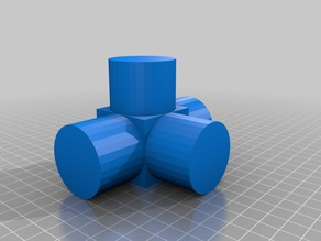 40mm PVC Pipe FPV Tower connector joint (Peg style)