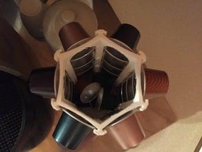 Nespressor Capsule Hexagon