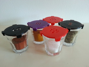 Ikea shot glass - Spice glass by CR